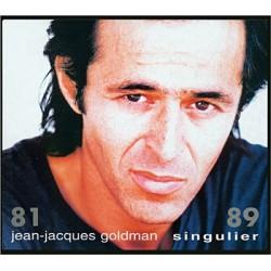 Jean Jacques Goldman - Singulier 81 / 89 - Double CD Album
