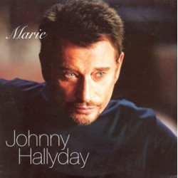 Johnny Hallyday - Marie - CD Single