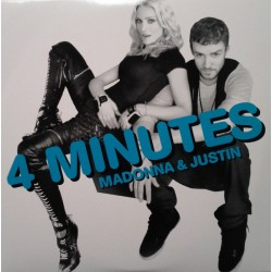 Madonna & Justin Timberlake– 4 Minutes - Double Maxi Vinyl