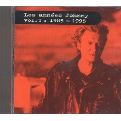 Johnny Hallyday - Les Années Johnny - Vol.2 : 1985-1995 - CD Album