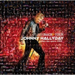 Johnny Hallyday - Flashback Tour - Palais des Sports 2006 - CD Album Italie