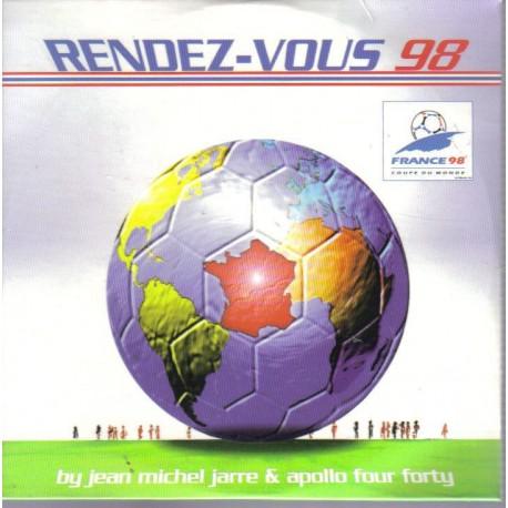 Jean Michel Jarre & Apollo Four Forty – Rendez-Vous 98 - CD Single