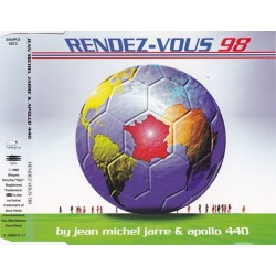Jean Michel Jarre & Apollo Four Forty ‎– Rendez-Vous 98 - CD Maxi Single Promo