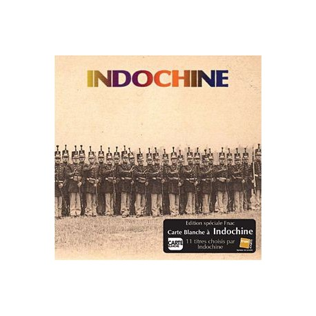 Indochine - Carte Blanche A Indochine - CD Album