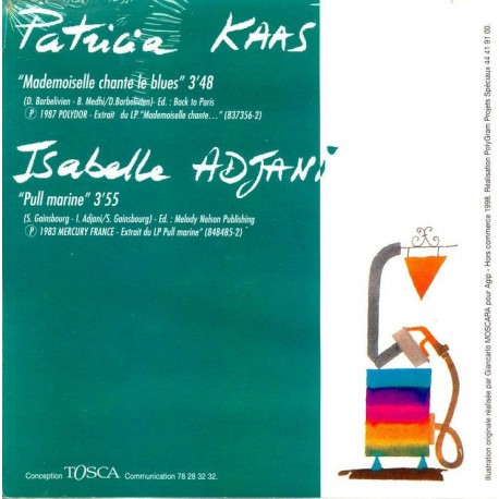 Patricia Kaas - Isabelle Adjani - CD Single Promo