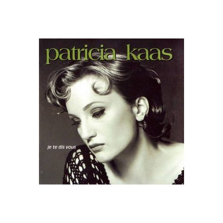 Patricia Kaas - Je Te Dis Vous - CD Album
