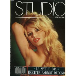 Studio Magazine Brigitte Bardot