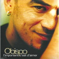 Pascal Obispo - L'Important C'Est D'Aimer - CD Single