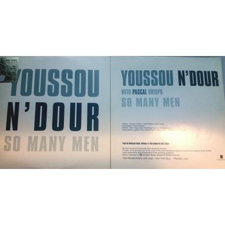 Pascal Obispo & Youssou N'Dour -  So Many Men - CD Single Promo