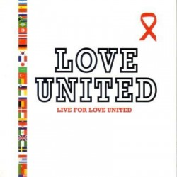 Love United ( Pascal Obispo ) - Live For Love United - CD Single Promo