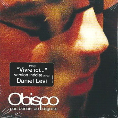 Pascal Obispo - Pas Besoin De Regrets - CD Single