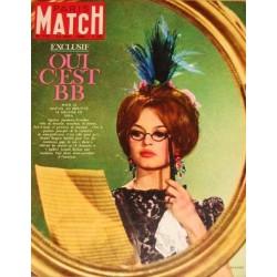 Brigitte Bardot Paris Match Décembre 1962