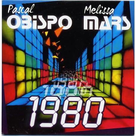 Pascal Obispo & Melissa Mars - 1980 - CD Single Promo