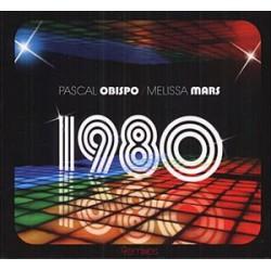 Pascal Obispo & Melissa Mars – 1980 - CD Maxi Single