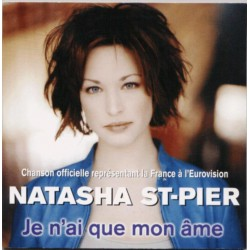 Natasha St-Pier ‎– Je N'Ai Que Mon Âme - CD Single