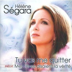 Hélène Ségara ‎– Tu Vas Me Quitter - CD Single
