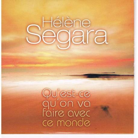 Hélène Ségara – Qu'est Ce Qu'on Va Faire Avec Ce Monde - CD Single Promo