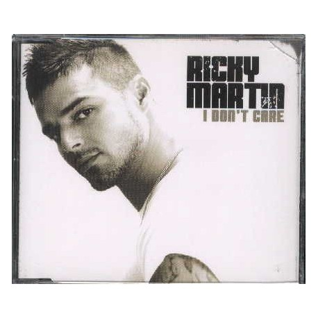 Ricky Martin Featuring Fat Joe & Amerie – I Don't Care - CD Maxi Single