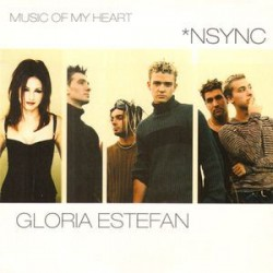 Gloria Estefan ‎& Nsync– Music Of My Heart - CD Single Promo