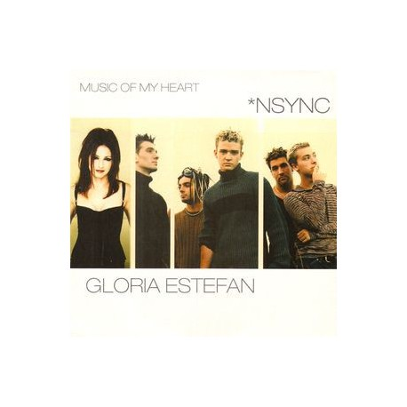 Gloria Estefan & Nsync– Music Of My Heart - CD Single Promo