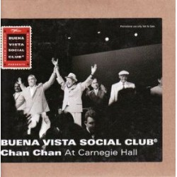 Buena Vista Social Club - Chan Chan - Carnegie Hall - CD Single Promo