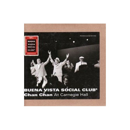 Buena Vista Social Club - Chan Chan - Carnegie Hall - CD Single Promo