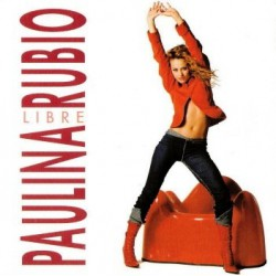 Paulina Rubio ‎– Libre - CD Single Promo