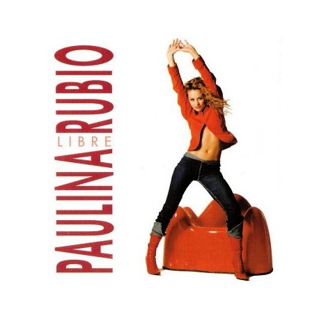 Paulina Rubio – Libre - CD Single Promo