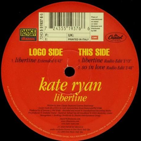 Kate Ryan – Libertine - Mylene Farmer Cover
