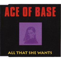 Ace Of Base ‎– All That She Wants - CD Maxi Single