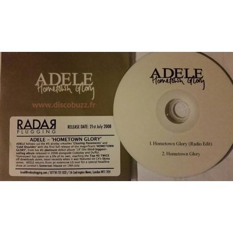 Adele - Hometown Glory - CDr Single Promo