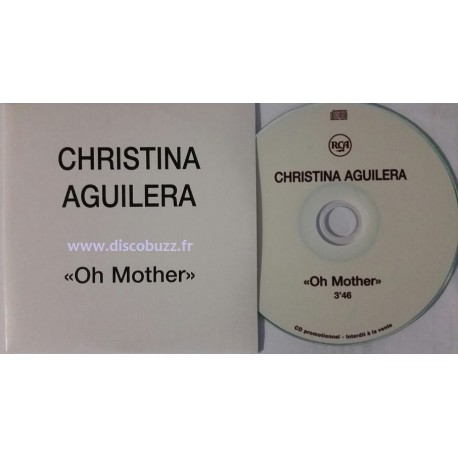 Christina Aguilera – Oh Mother - CDr Single Promo