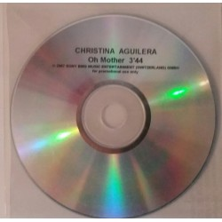 Christina Aguilera ‎– Oh Mother - CDr Single Promo