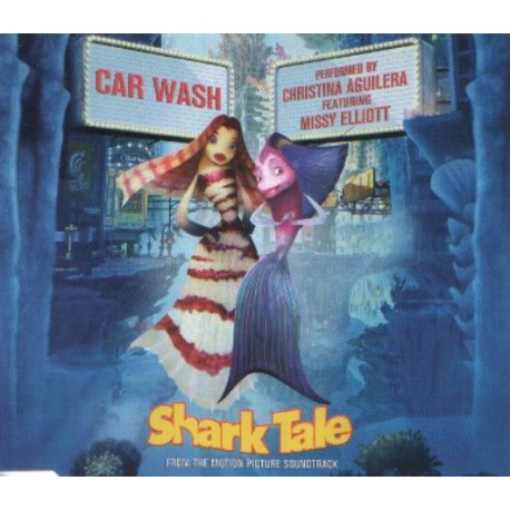 Christina Aguilera Featuring Missy Elliott – Car Wash - CD Maxi Single
