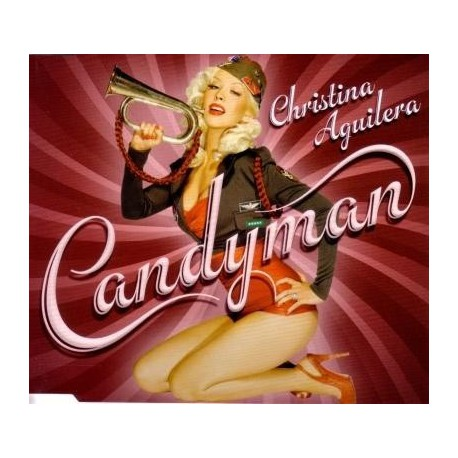 Christina Aguilera – Candyman - CD Maxi Single Promo