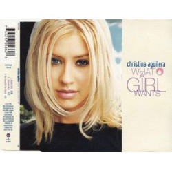 Christina Aguilera ‎– What A Girl Wants - CD Maxi Single
