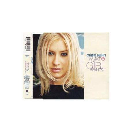 Christina Aguilera – What A Girl Wants - CD Maxi Single