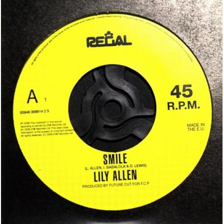 Lily Allen – Smile - CD Single Promo