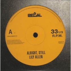 Lily Allen ‎– Alright, Still - CD Album Promo