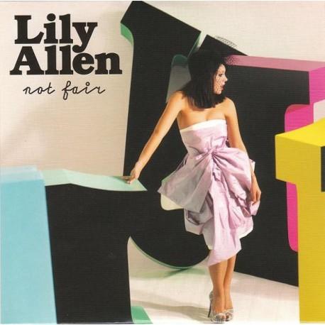 Lily Allen – Not Fair - CD Single Promo