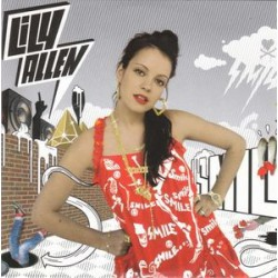 Lily Allen ‎– Smile - CD Single Promo