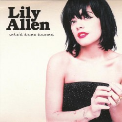 Lily Allen ‎– Who'd Have Known - CD Promo Single