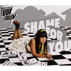 Lily Allen ‎– Shame For You - Alfie - CD Single Promo