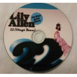 Lily Allen en duo avec Ours - 22 - CDr Single Promo