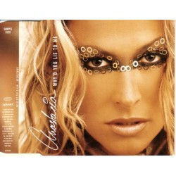 Anastacia ‎– Why'd You Lie To Me - CD Maxi Single