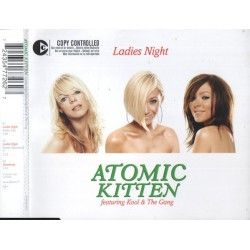 Atomic Kitten Featuring Kool & The Gang ‎– Ladies Night - Maxi CD Single
