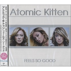 Atomic Kitten ‎– Feels So Good - CD Album + Obi Strip