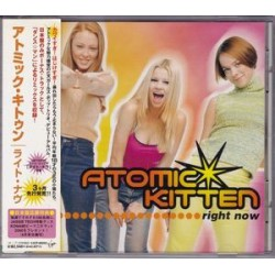 Atomic Kitten ‎– Right Now - CD Album avec Obi