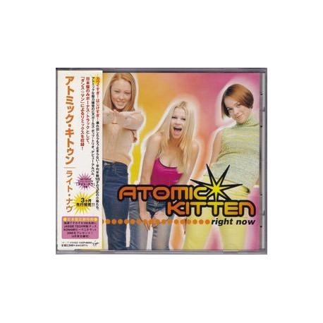 Atomic Kitten – Right Now - CD Album