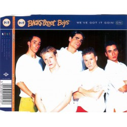 Backstreet Boys ‎– We've Got It Goin' On - CD Maxi Single